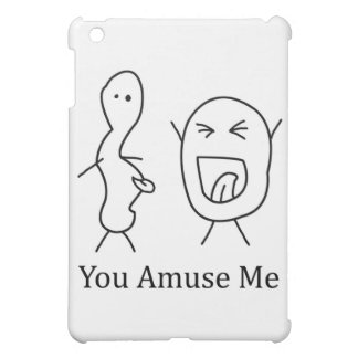 You Amuse Me logo iPad Mini Cases