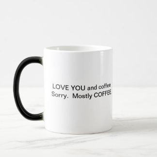 You and Coffee Magic Mug