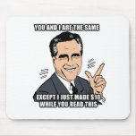 you and i are the same - .png mousepad