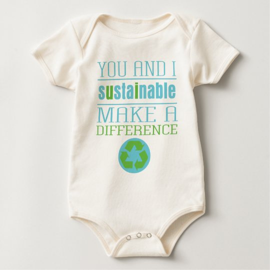 You and I Sustainable Baby Bodysuit