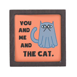 You And Me And The Cat Gift Box
