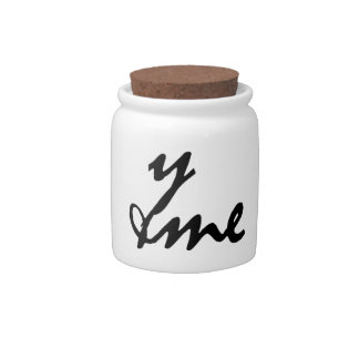 You and me candy jars