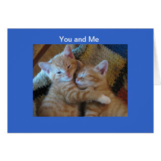 You and Me Card