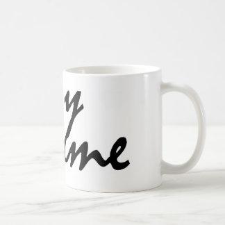 You and me coffee mug