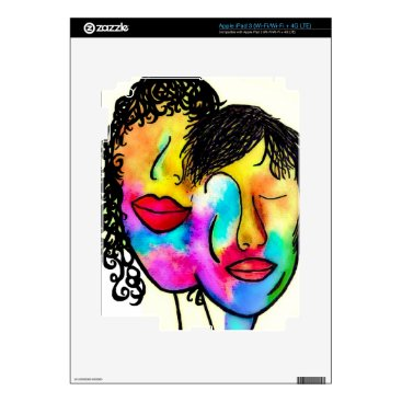 Wedding Themed You and Me iPad 3 Decals
