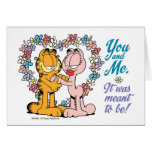 You and Me, It was meant to be! Greeting Card