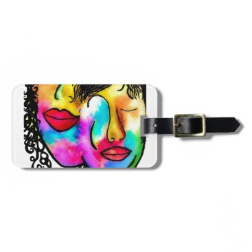 Wedding Themed You and Me Luggage Tag