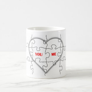 YOU AND ME _ PUZZLE OF LOVE MUG