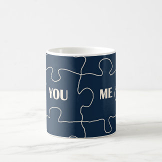 You and me -puzzles coffee mugs