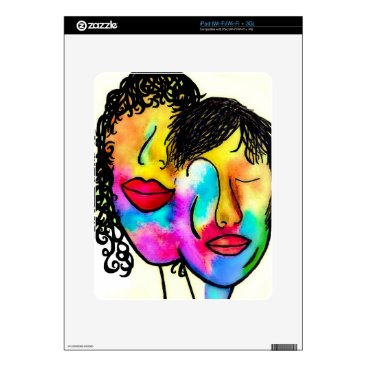 Wedding Themed You and Me Skin For iPad