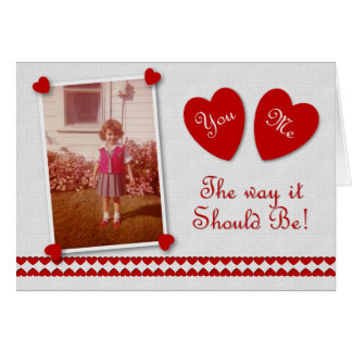 You and Me Valentine Card