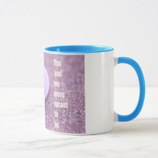"you and me were meant to be ""cup"" mug"