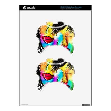 Wedding Themed You and Me Xbox 360 Controller Decal