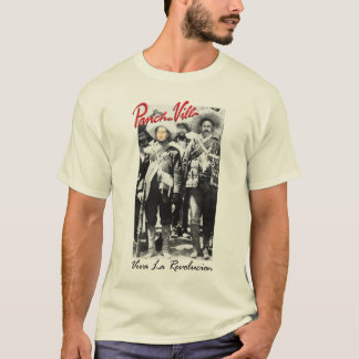 You and Pancho Villa Customizable w/ your Photo T-Shirt