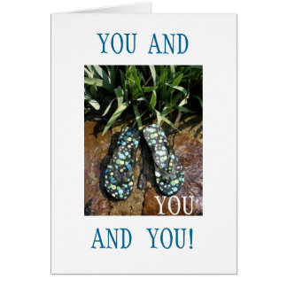 YOU AND YOU! GREETING CARD