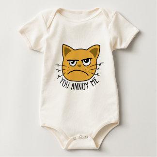 You Annoy Me Baby Bodysuit