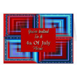 You're Invited To A 4th Of July Picnic Greeting Cards