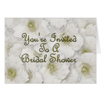 You're Invited To A Bridal Shower Card