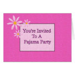 You're Invited To A Pajama Party Cards