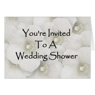 You're Invited To A Wedding Shower Card