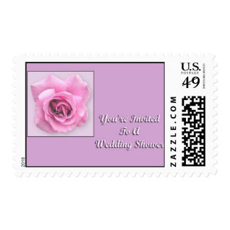 You're Invited To A Wedding Shower Postage Stamps
