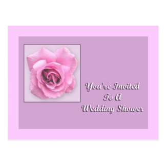 You're Invited To A Wedding Shower Postcard