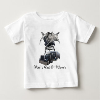 You're Out Of Hours Blk Baby T-Shirt