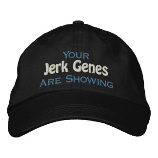 You Are A Jerk Embroidered Baseball Hat