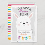 You Are A Llama Fun Valentines Day Classroom