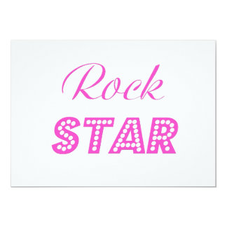 You are a Rock Star Card