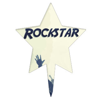 You are a Rockstar! Cake Topper