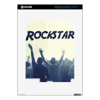 You are a Rockstar! Decal For iPad 3