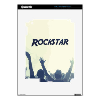 You are a Rockstar! Decal For The iPad 2