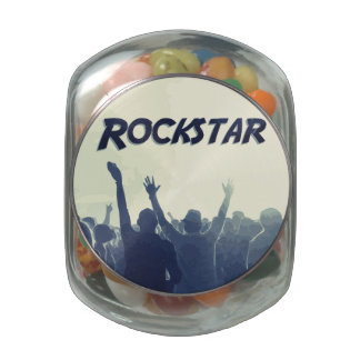 You are a Rockstar! Jelly Belly Candy Jars