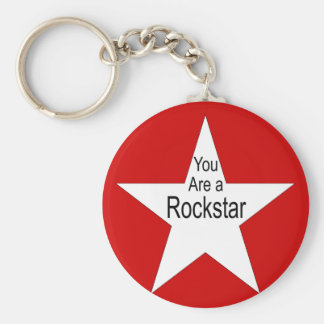 You are a Rockstar Keychain