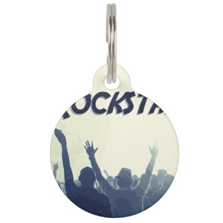 You are a Rockstar! Pet ID Tag