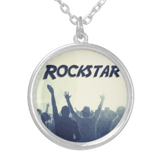 You are a Rockstar! Silver Plated Necklace