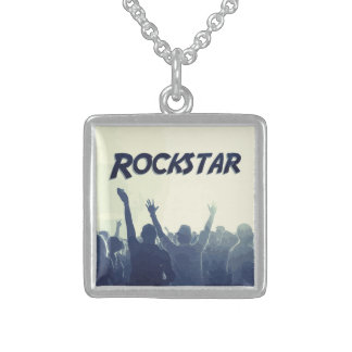 You are a Rockstar! Sterling Silver Necklace