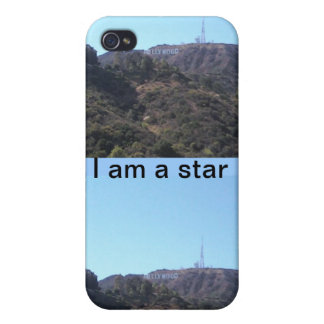 You are a star HOLLYWOOD sign iPhone 4/4S Case