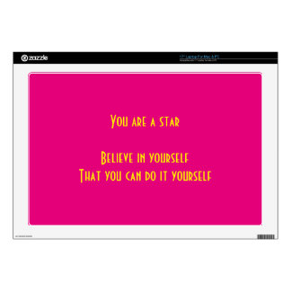 You are a star laptop decals
