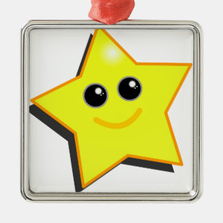 You are a STAR! Metal Ornament
