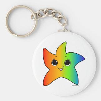 You are a Star - rainbow Keychain