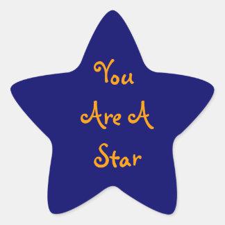 You Are A Star Reward Sticker