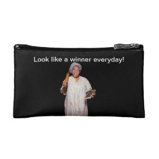 You are a winner! makeup bag