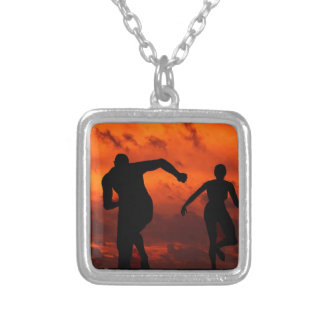 YOU ARE A WINNER SILVER PLATED NECKLACE
