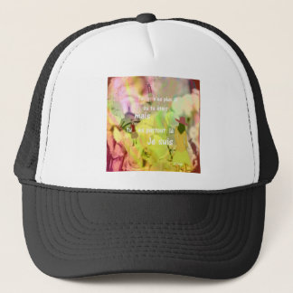 You are always with me even you are not. trucker hat