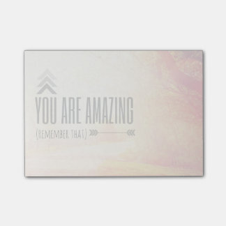 You Are Amazing Post-it® Notes