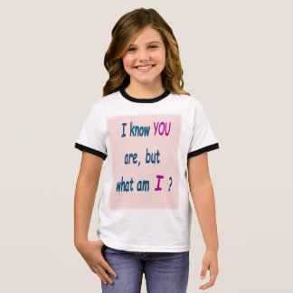 You are . . .: Anti-teasing or bullying T-shirt