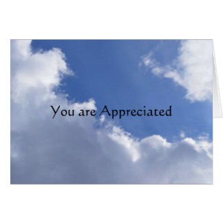 You are Appreciated Stationery Note Card