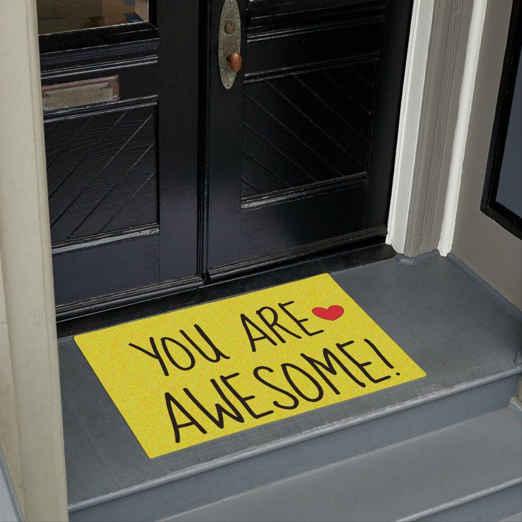 fun doormats